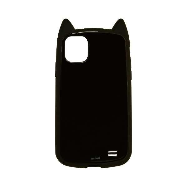 iPhone 11 6.1インチ モデル VANILLA PACK mimi 5086IP961HB ブラック×ブラック