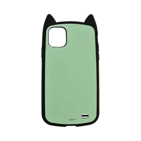 iPhone 11 6.1インチ モデル VANILLA PACK mimi 5094IP961HB ブラック×ミントブルー