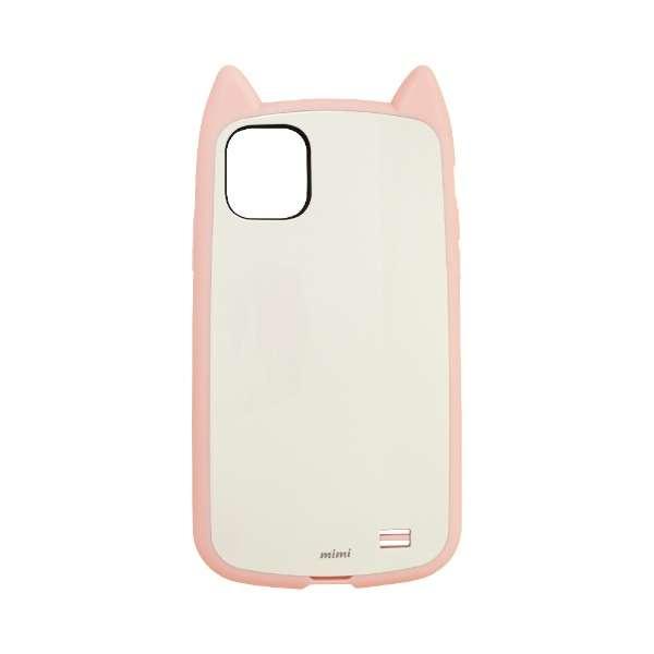 iPhone 11 6.1インチ モデル VANILLA PACK mimi 5095IP961HB ライトピンク×ホワイト