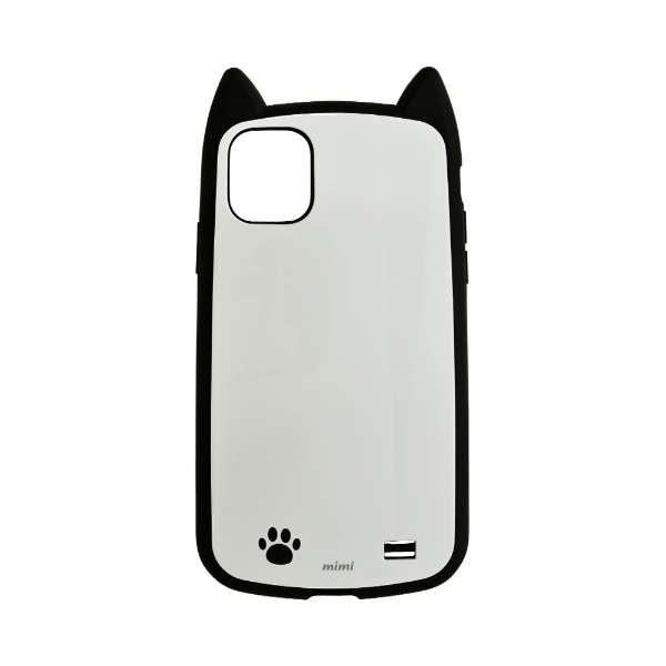 iPhone 11 6.1インチ モデル VANILLA PACK mimi 5100IP961HB 肉球ワンポイント