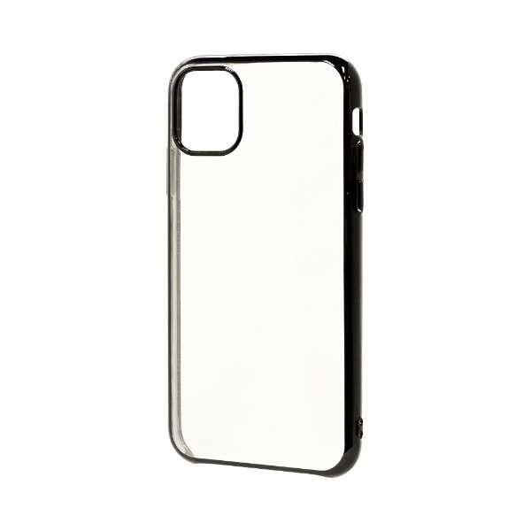 iPhone 11 6.1インチ モデル トライタンメタルフレームケース 5115IP961TR ブラック
