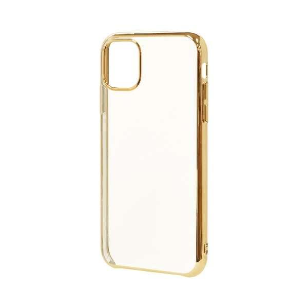 iPhone 11 6.1インチ モデル トライタンメタルフレームケース 5117IP961TR ゴールド