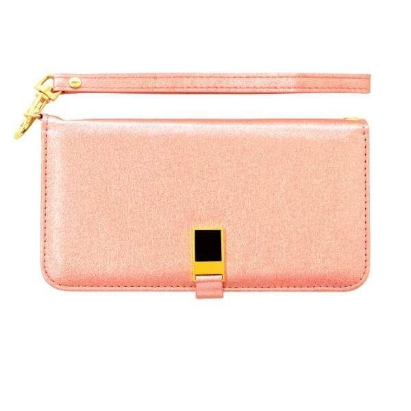 iPhone 11 6.1インチ モデル VIVIANA 手帳型ケース 5040IP961BO ピンク