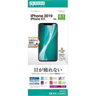 iPhone 11 6.1インチ モデル フィルム Y1940IP961 BL反射防止