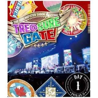 THE IDOLM@STER SideM 4th STAGE ~TRE@SURE GATE~ LIVE Blu-ray【SMILE PASSPORT(DAY1通常版)】 【ブルーレイ】