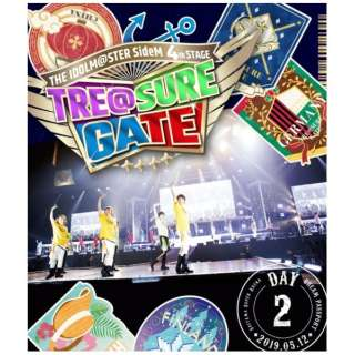 THE IDOLM@STER SideM 4th STAGE ~TRE@SURE GATE~ LIVE Blu-ray【DREAM PASSPORT(DAY2通常版)】 【ブルーレイ】