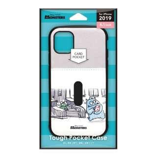 iPhone 11 6.1インチ 用 タフポケットケース  モンスターズ・インク PG-DPT19B07MOI