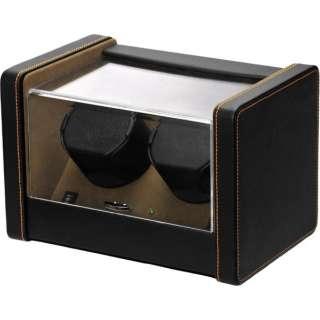 2本用ワインディングマシーン(2WAY電源) SP2183022BK(ブラック&ブラウン) 【正規品】 SP2183022BK ブラック&ブラウン