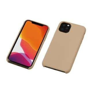 iPhone 11 Pro Max 6.5インチ 用 シリコンハードCASE <CRYTONE: クレトーン> グレージュ BKS-IPS19LGE