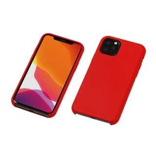 iPhone 11 Pro Max 6.5インチ 用 シリコンハードCASE <CRYTONE: クレトーン> レッド BKS-IPS19LRD
