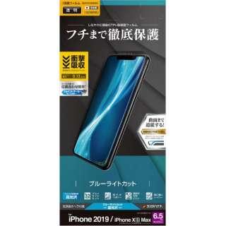 iPhone 11 Pro Max 6.5インチ モデル 薄型TPUフィルム UE2018IP965 BLC光沢