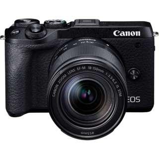 EOS M6 Mark II ミラーレス一眼カメラ EF-M18-150 IS STM レンズキット ブラック [ズームレンズ]