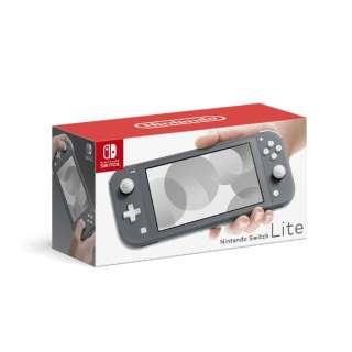 Nintendo Switch Lite グレー HDH-S-GAZAA [ゲーム機本体]