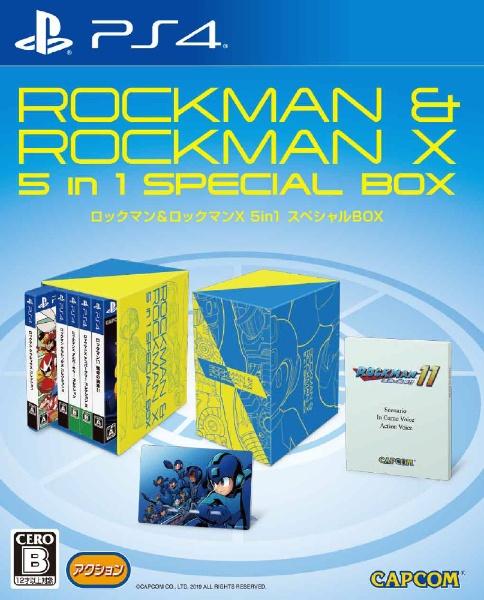 ロックマン&ロックマンX 5in1 スペシャルBOX [PS4] 製品画像