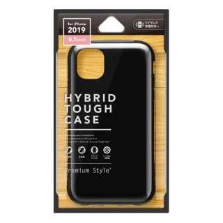 iPhone 11 6.1インチ 用 ハイブリッドタフケース ブラック PG-19BPT01BK