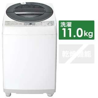 ES-GW11D-S 全自動洗濯機 シルバー系 [洗濯11.0kg /乾燥機能無 /上開き]