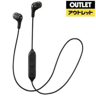 【アウトレット品】 BTイヤホン ブラック [リモコン・マイク対応 /Bluetooth] 【生産完了品】
