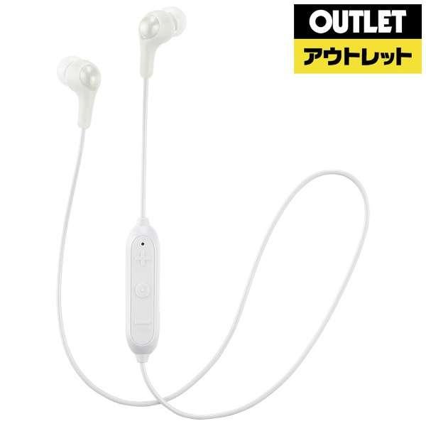 【アウトレット品】 BTイヤホン JVC HAFX23BTW  [リモコン・マイク対応 /Bluetooth] 【生産完了品】