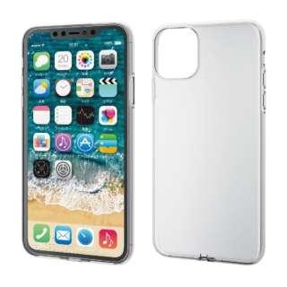 iPhone 11 Pro Max 6.5インチ ソフトケース 極み クリア PM-A19DUCTCR