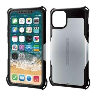 iPhone 11 Pro Max 6.5インチ ZEROSHOCK スタンダード シルバー PM-A19DZEROSV