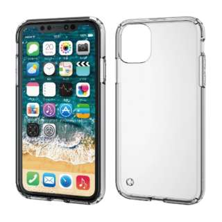 iPhone 11 6.1インチ対応 ハイブリッドケース クリア PM-A19CHVCCR
