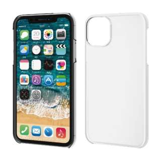 iPhone 11 6.1インチ対応 ハードケース クリア PM-A19CPVCR