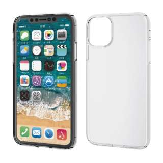 iPhone 11 6.1インチ対応 ハードケース 極み クリア PM-A19CPVKCR