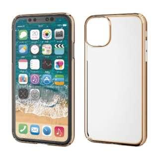 iPhone 11 6.1インチ対応 ハードケース 極み ゴールド PM-A19CPVKMGD