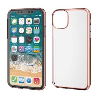iPhone 11 6.1インチ対応 ハードケース 極み ローズゴールド PM-A19CPVKMPN
