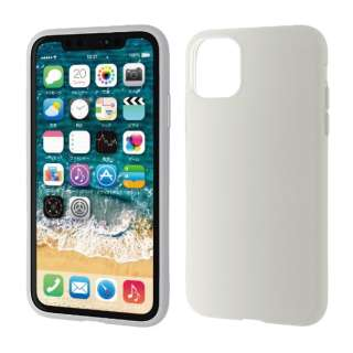 iPhone 11 6.1インチ対応 シリコンケース クリア PM-A19CSCCR