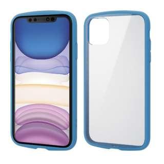 iPhone 11 6.1インチ対応 TOUGH SLIM LITE フレームカラー ブルー PM-A19CTSLFCBU