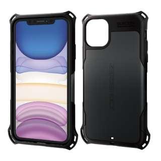 iPhone 11 6.1インチ対応 ZEROSHOCK スタンダード ブラック PM-A19CZEROBK
