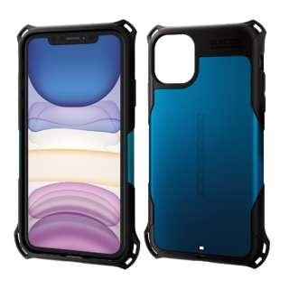 iPhone 11 6.1インチ対応 ZEROSHOCK スタンダード ブルー PM-A19CZEROBU
