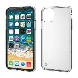 iPhone 11 Pro Max 6.5インチ ハイブリッドケース クリア PM-A19DHVCCR