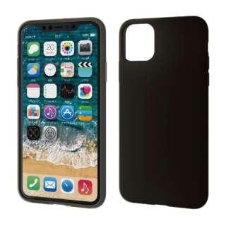 iPhone 11 Pro Max 6.5インチ シリコンケース ブラック PM-A19DSCBK