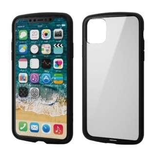 iPhone 11 Pro Max 6.5インチ TOUGH SLIM LITE フレームカラー ブラック PM-A19DTSLFCBK