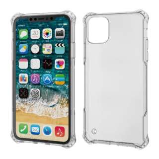 iPhone 11 Pro Max 6.5インチ ZEROSHOCK インビジブル クリア PM-A19DZEROTCR