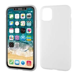 iPhone 11 6.1インチ対応 ハイブリッドケース シリコン クリア PM-A19CHVSCCR