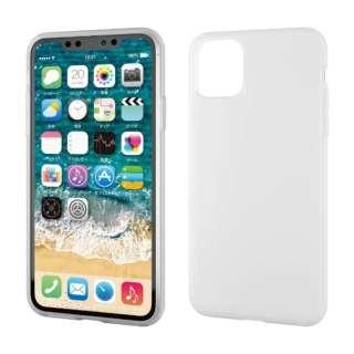 iPhone 11 Pro Max 6.5インチ ハイブリッドケース シリコン クリア PM-A19DHVSCCR