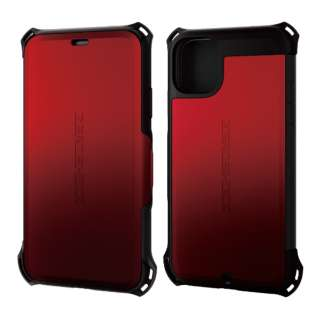 iPhone 11 6.1インチ対応 ZEROSHOCK シールド レッド PM-A19CZEROSRD