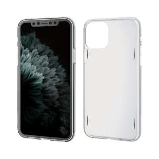 iPhone 11 Pro 5.8インチ対応 ハードケース AQUA クリア PM-A19BAQCR