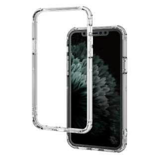 iPhone 11 Pro 5.8インチ対応 ハイブリッドバンパーケース クリア PM-A19BHVBCR