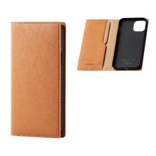 iPhone 11 Pro 5.8インチ対応 ソフトレザーケース イタリアン(Coronet) オレンジスカッシュ PM-A19BPLFYILDR