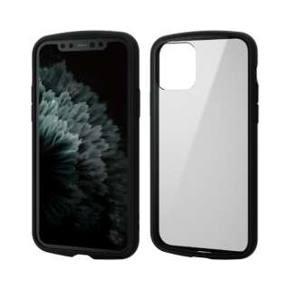 iPhone 11 Pro 5.8インチ対応 TOUGH SLIM LITE フレームカラー ブラック PM-A19BTSLFCBK