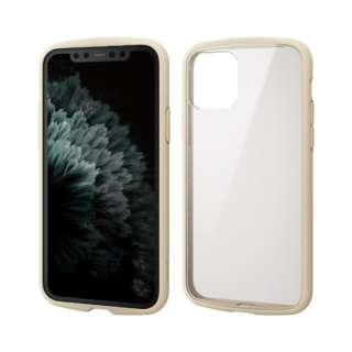 iPhone 11 Pro 5.8インチ対応 TOUGH SLIM LITE フレームカラー アイボリー PM-A19BTSLFCIV