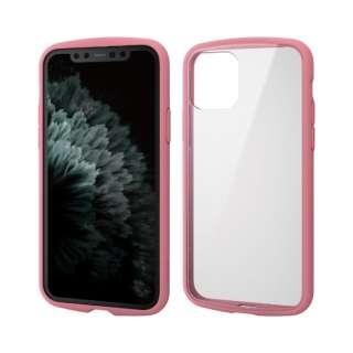 iPhone 11 Pro 5.8インチ対応 TOUGH SLIM LITE フレームカラー ピンク PM-A19BTSLFCPN