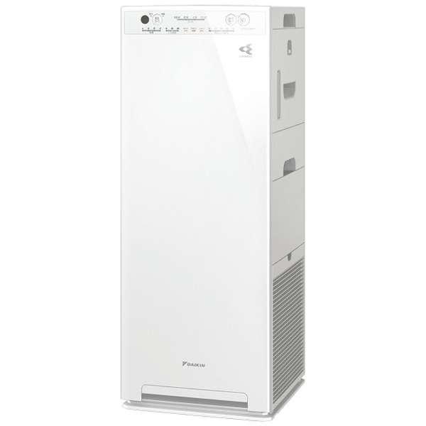 加湿空気清浄機 MCK55WBK-W ホワイト [適用畳数:25畳 /最大適用畳数(加湿):14畳 /PM2.5対応]