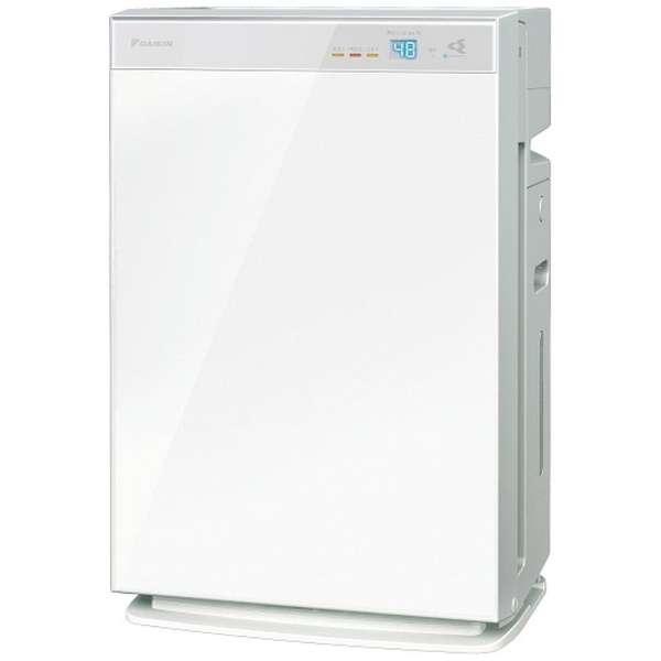 加湿空気清浄機 MCK70WBK-W ホワイト [適用畳数:31畳 /最大適用畳数(加湿):18畳 /PM2.5対応]