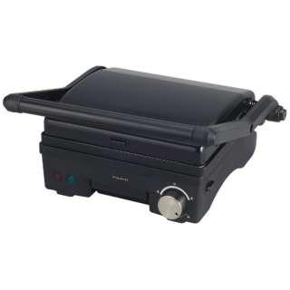 プレスグリルメーカー HPU-131-BK ブラック