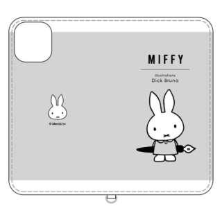 ミッフィー iPhone 11 Pro 5.8インチ 対応フリップカバー ペン MF-84GY